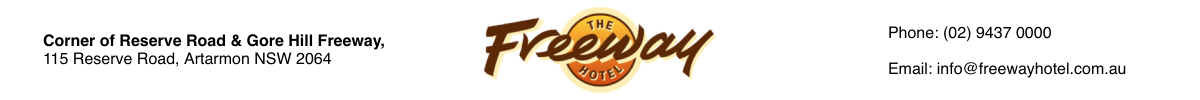 The Freeway Hotel